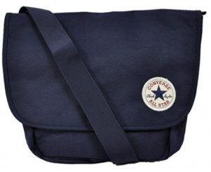 Stylová taška od známé značky Converse v modré barvě. Vpředu nechybí  nášivka s logem a názvem výrobce. Přední malá zipová kapsa. 83ff849f885